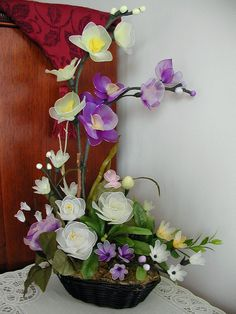 Handmade Colorful Flowers Arrangment by LiYunFlora on Etsy, $45.00