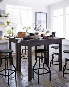 Barstool kitchen