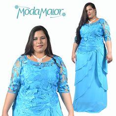 d8f3a9a0c 50 melhores imagens de Vestidos de Festa Longos Plus Size em 2019 ...