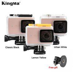 Original KingMa Xiaomi Yi 4K 2 Waterproof Case XiaoYi II Sports Camera 45M Diving Waterproof Box XiaoYI II Housing Accessories