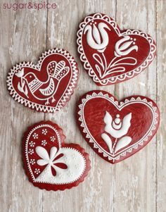 valentinesday gingerbread  by Michaela Canady