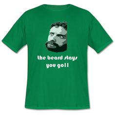 A shirt inspired by the Kids in the Hall skit where Kevin McDonald is driven mad by facial hair.   #kidsinthehall #tshirt #funnyshirt #beardtshirt