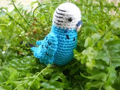 Budgie crochet pattern. The english instructions are below the dutch ones.
