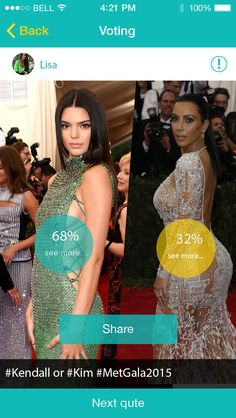 Kim or Kendall :)?