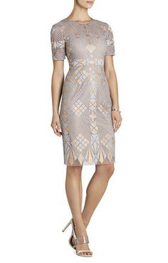 Lace Sheath Dress | Clutch | Fabulous Earrings ... wear to a wedding perfection