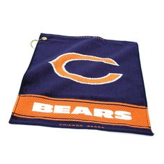 Chicago Bears NFL Woven Golf Towel