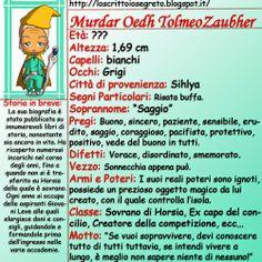 Lo Scrittoio Segreto: Schede personaggio: Murdar Oedh Tolmeo Zaubher