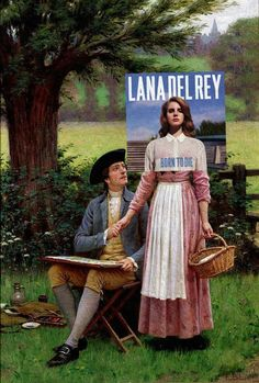 Art for gangsta Nancy Sinatra! Born to Die + The Lord of Burleigh by Edmund Blair Leighton Lana Del Rey (EP) + The Proposal by Frederick Morgan Lana Del Ray + Portrait Of A Woman, Said To Be Adrienne. Plakat Design, Pochette Album, Born To Die, Famous Singers, Art Memes, Arte Pop, Art Plastique, Johannes Vermeer, Aesthetic Art