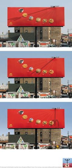 Incredible Sun Dial Billboard Design