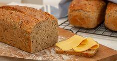 Grove flerkornsbrød Banana Bread, Baking, Desserts, Bread Making, Patisserie, Backen, Deserts, Bread, Dessert