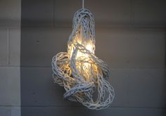 Woven Pendant Light, Eleanor Whiston