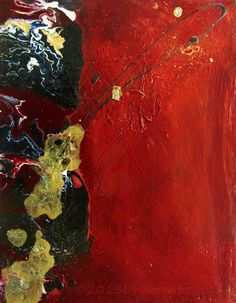 Rhythms At The Cellular Level Mixed Media On Canvas Abstract Painting By Donna Holdsworth