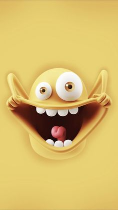 New Wallpaper Iphone Cute Cartoon Funny 53 Ideas Emoji Wallpaper Iphone, Cute Emoji Wallpaper, Cartoon Wallpaper Iphone, Cute Cartoon Wallpapers, Cellphone Wallpaper, Disney Wallpaper, Iphone Cartoon, Crazy Wallpaper, Smile Wallpaper