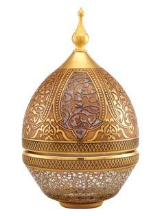 Dome shaped sugar bowl - Handmade glassware - Paşabahçe