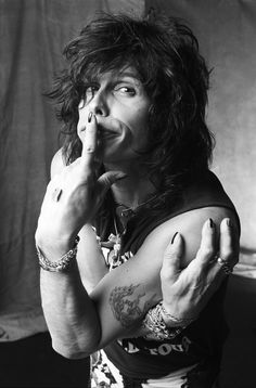 Steven Tyler. Los Angeles, 1988. Photo © Norman Seeff.