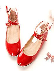 kerek toe lapos sarok bőr lakások női cipő (töb... – EUR € 12.99