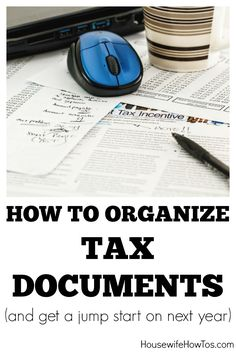 Knowing how to get organized for tax preparation will help you save time and maximize your refund. Tax season is upon us. Whether you do your taxes or have someone prepare them for you, now is the tim Financial Organization, Paper Organization, Organizing, Tax Refund, Tax Deductions, Small Business Tax, Business Ideas, Income Tax Preparation, Income Tax Return