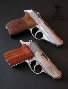 Sig Sauer P232 and the Walther PPK