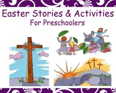 Easter stories and activities created for preschool age children. It is Cullen's Abc's passion to equip parents, Sunday school teachers, and preschool teachers to teach preschoolers God's Word in the simplest way possible. Click to learn more! Preschool Bible Activities, Preschool Teachers, Sunday School Activities, Preschool Age, Sunday School Crafts, Easter Activities, Preschool Activities, Kids Church, Church Ideas