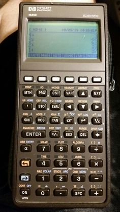 HP 48S RPN graphing scientific calculator