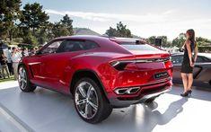 .  .  .   and Going Lamborghini Urus Left Rear Angle