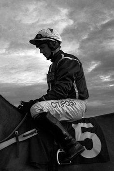 Jockey at Hereford races.