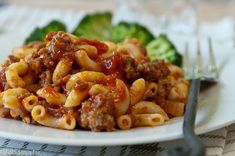 One-Pot Beef Goulash--One of my husband's favorites.