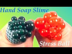 DIY Stress Ball With Hand Soap Slime!! How To Make Slime Without Glue ,Borax,or Liquid Starch - YouTube