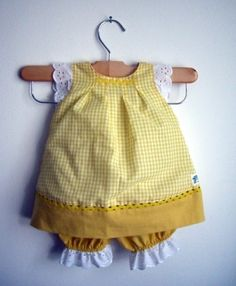 This is totally happening for the itty bitty addie....    Special Edition Peekaboo Dress  Sweet Lemon Pie  Girl  by RaeGun, $34.50