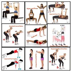 """For those of you who can't make it to the gym, loosing that armpit fat doesn't have to seem non existent. This routine I have put together guarantees results within 4 weeks. All you need is 2 5lb-15lb dumbbells (depending on your strength level) and 30 mins a day.  """"3 Sets, 15 repetitions""""  1. Seated Dumbbell Press   2. Squat Press 3. Dumbbell Chest Press 4. Dumbell Lateral Raises 5. Push-ups 6. Dumbbell Squat & Press 7. Dumbbell Push-up Row 8. Dumbbell Frontal Raises 9. Dumbbell Bent Over…"""