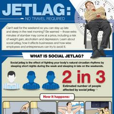 Learn about social jetlag, how it affects businesses and how wise employees and entrepreneurs can try to avoid it.