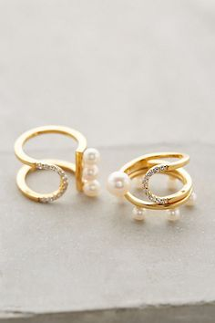 Pearl Eclipse Ring - anthropologie.com #anthrofave