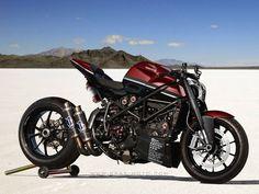Modified Ducati Streetfighter.