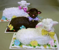 Easter lamb ~ I get one of these every year from my bakery