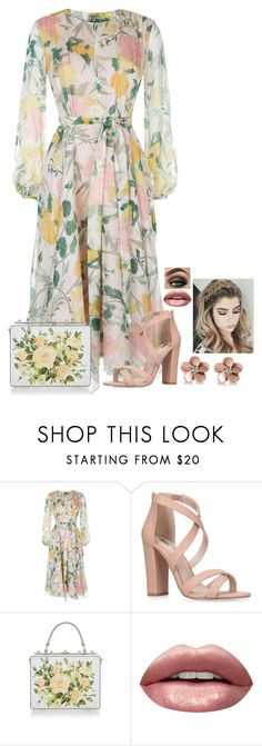"""N/A # 2468"" by wendy00 ❤ liked on Polyvore featuring Miss KG, Dolce&Gabbana, Huda Beauty and Allurez"
