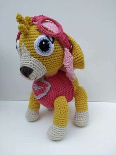 paw patrol tejido a crochet