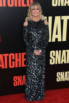 Goldie Hawn in Michael Kors   'Snatched' Los Angeles Premiere 2017