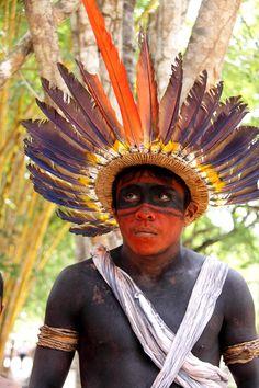 Assurini hoofdtooi, uit Pará, Brazilië