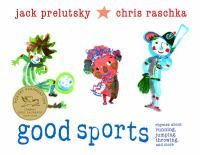 An illustrated collection of poems for children about various sports activities.