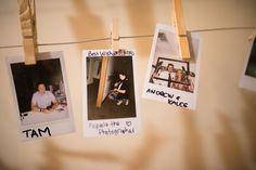 Guest book #minipolariods #keepsake #pinterestidea #diy Polaroid Film, Books, Diy, Wedding, Livros, Casamento, Bricolage, Livres, Weddings