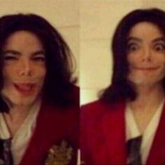 The crazy side of MJ ;) love it