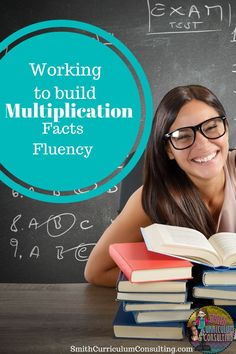Working to Build Multiplication Fact Fluency- Techniques and strategies to help build fluent multiplications mathematicians in your classroom no matter what grade level.