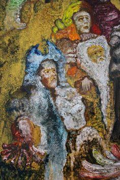 Nostradamus Obraz olejny - fragment