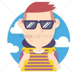 Tourist with backpack stock vector , #AFF, #backpack, #Tourist, #vector, #stock #affiliate