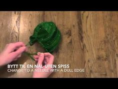 Part 2 - Babylue - Baby hat / Silver Reed LK150 - YouTube