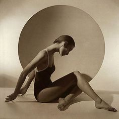 swimsuit, Horst P. Horst, legendary fashion photographer