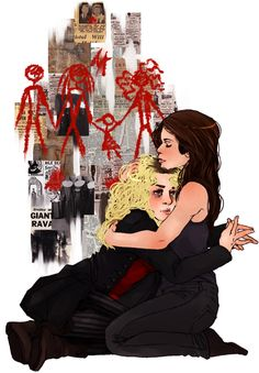 Helena & Sarah // Sestras // Seestras // Orphan Black // Artist Unknown // This Is Beautiful ... Just Sayin' ...