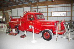 1955 Willys Overland Fire Truck
