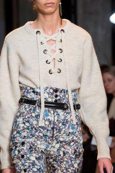 Isabel Marant at Paris Fall 2015 (Details)