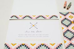 The Bohemian Save The Date  Boho inspired Save the by meohmydesign, $115.00